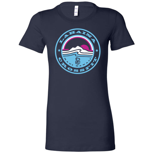 Lahaina CrossFit - 100 - Miami Sunrise Blue - Bella + Canvas - Women's The Favorite Tee