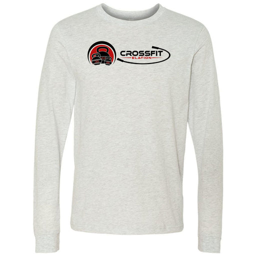 CrossFit Elation - 100 - Two Color - Bella + Canvas 3501 - Men's Long Sleeve Jersey Tee