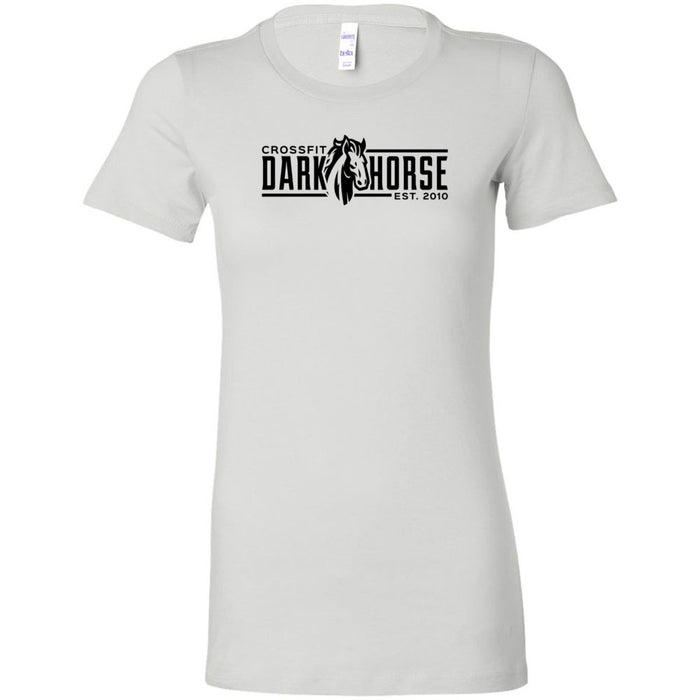 CrossFit Dark Horse - 100 - CDH - Bella + Canvas - Women's The Favorite Tee