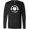 Fat Bottom CrossFit - 100 - One Color - Bella + Canvas 3501 - Men's Long Sleeve Jersey Tee