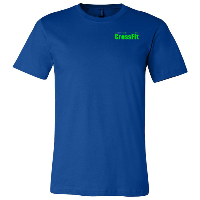 G-Theory CrossFit - 100 - Pocket - Bella + Canvas - Men's Short Sleeve Jersey Tee