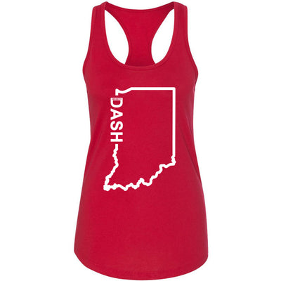 CrossFit Dash - 100 - Indiana Dash - Next Level - Women's Ideal Racerback Tank