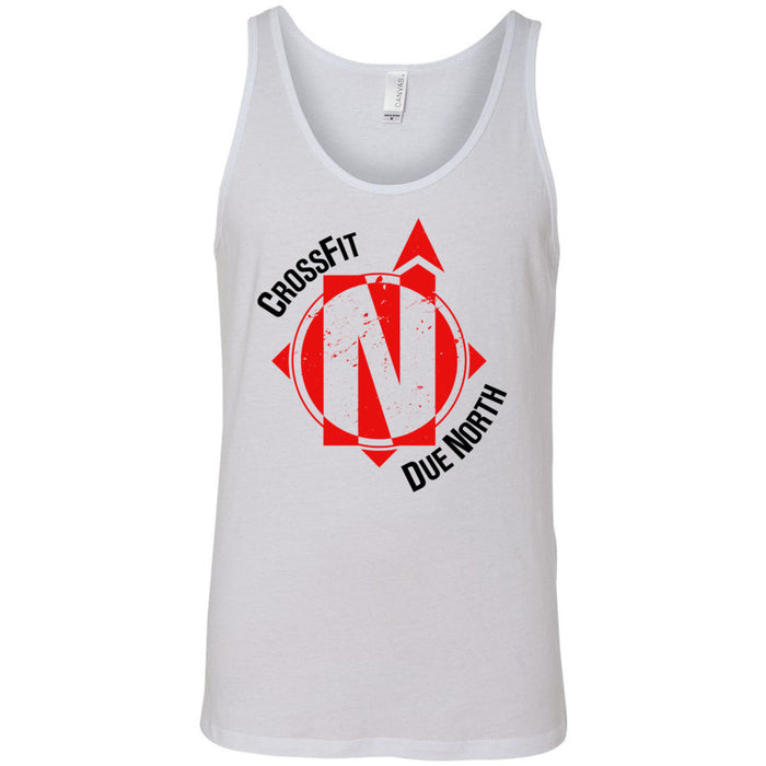 CrossFit Due North - 100 - Standard - Bella + Canvas - Men's Jersey Tank