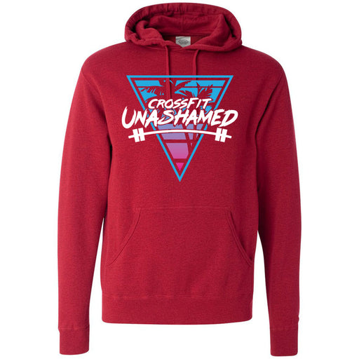 CrossFit Unashamed - 100 - Tropical - Independent - Hooded Pullover Sweatshirt
