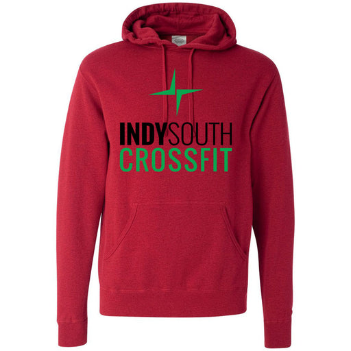 Indy South CrossFit - 100 - Stacked - Independent - Hooded Pullover Sweatshirt