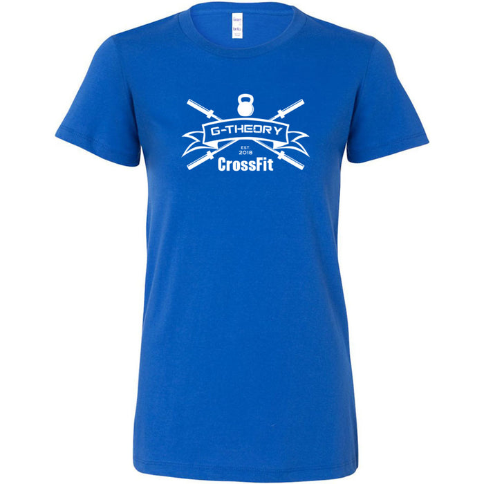 G-Theory CrossFit - 100 - One Color - Bella + Canvas - Women's The Favorite Tee