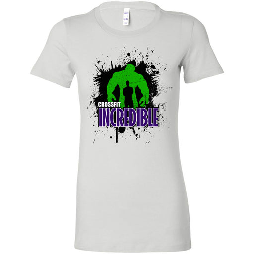 CrossFit Incredible - 100 - Standard - Bella + Canvas - Women's The Favorite Tee