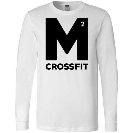 CrossFit M2 - 100 - M2 - Bella + Canvas 3501 - Men's Long Sleeve Jersey Tee