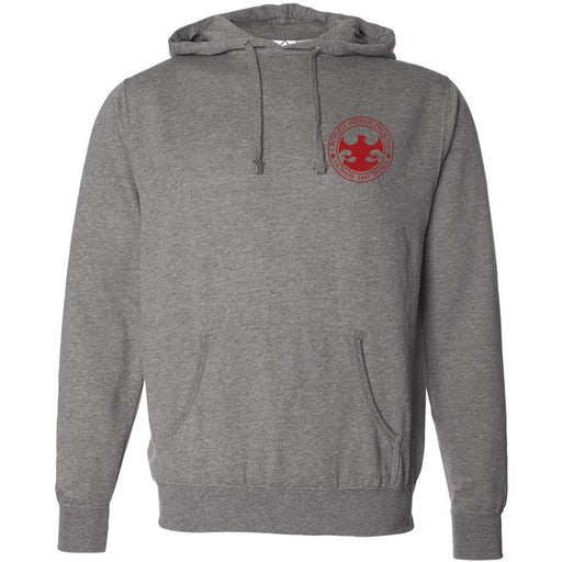 CrossFit North Phoenix - 201 - Burpees & Bear Crawls - Independent - Hooded Pullover Sweatshirt
