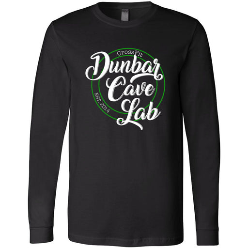 CrossFit Dunbar - 100 - Script - Bella + Canvas 3501 - Men's Long Sleeve Jersey Tee