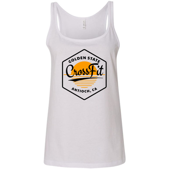 Golden State CrossFit - 100 - AA2 Paradise - Bella + Canvas - Women's Relaxed Jersey Tank