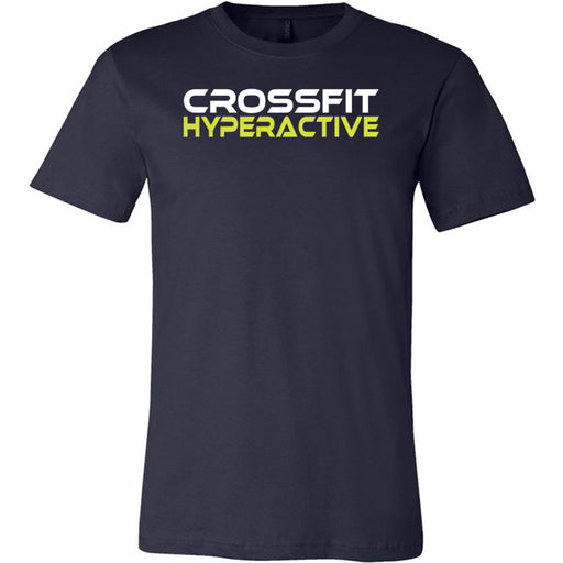 CrossFit Hyperactive - 100 - Standard - Bella + Canvas - Men's Short Sleeve Jersey Tee