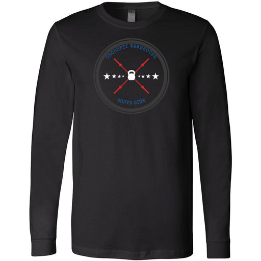 CrossFit Warehouse - 100 - Barbell - Bella + Canvas 3501 - Men's Long Sleeve Jersey Tee