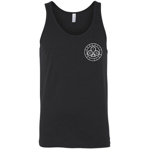 CrossFit The Club - 100 - Pocket - Bella + Canvas - Men's Jersey Tank