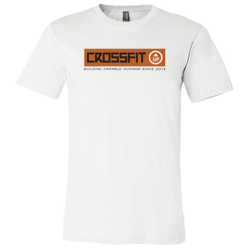CrossFit Up - 100 - Building Capable Humans - Bella + Canvas - Men's Short Sleeve Jersey Tee