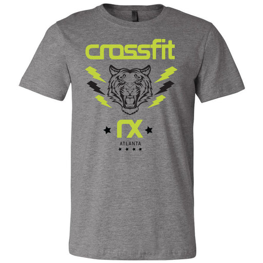 CrossFit Rx - 100 - Tiger - Bella + Canvas - Men's Short Sleeve Jersey Tee