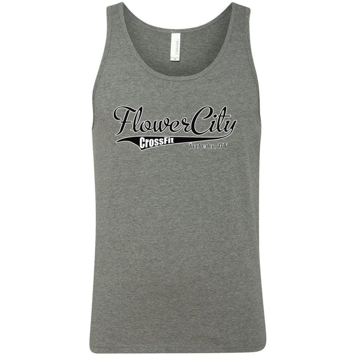 Flower City CrossFit - 100 - Tails - Bella + Canvas - Men's Jersey Tank
