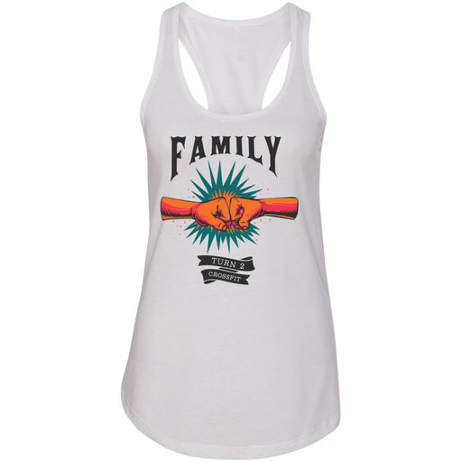 Turn 2 CrossFit - 100 - Family - Next Level - Women's Ideal Racerback Tank
