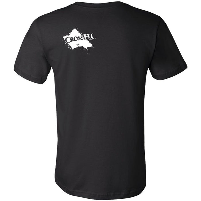 CrossFit Oahu - 200 - Awesome! - Bella + Canvas - Men's Short Sleeve Jersey Tee
