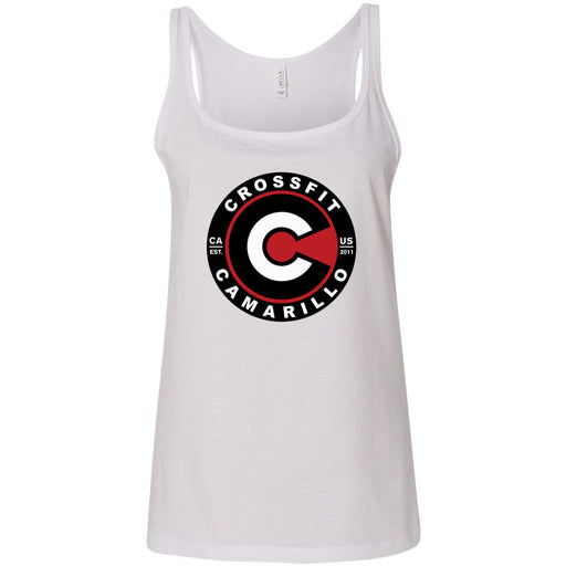 CrossFit Camarillo - 100 - Standard - Bella + Canvas - Women's Relaxed Jersey Tank