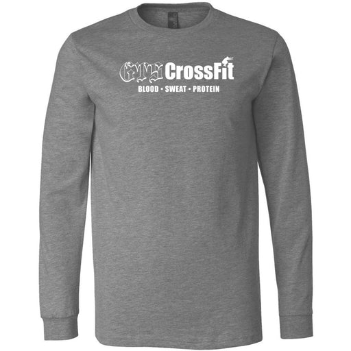 GTS CrossFit - 100 - One Color - Bella + Canvas 3501 - Men's Long Sleeve Jersey Tee