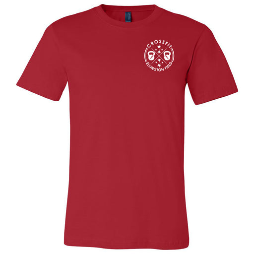 CrossFit Ellington Field - 100 - Pocket - Bella + Canvas - Men's Short Sleeve Jersey Tee