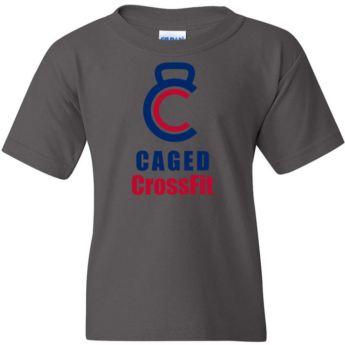 Caged CrossFit - 100 - Standard - Gildan - Heavy Cotton Youth T-Shirt