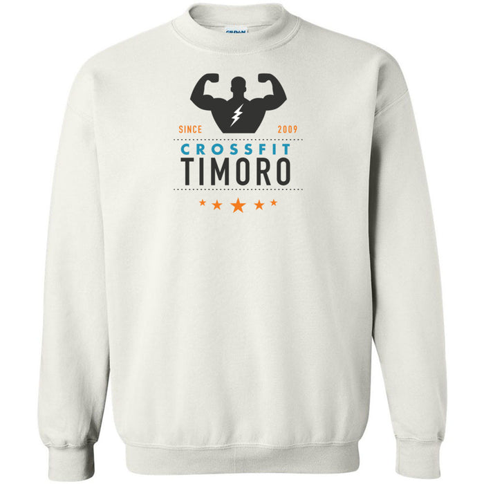 CrossFit Timoro - 100 - Muscle Black - Gildan - Heavy Blend Crewneck Sweatshirt