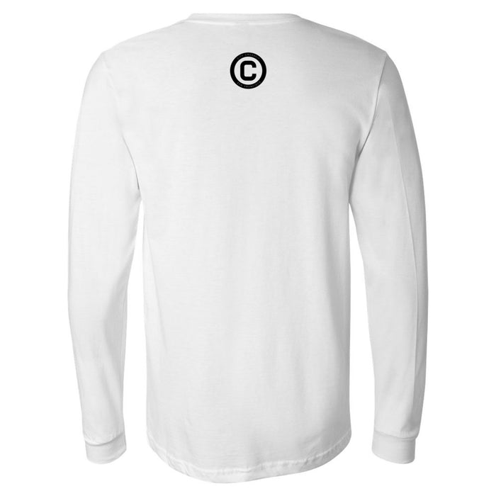 The City CrossFit - 202 - Athletic - Bella + Canvas 3501 - Men's Long Sleeve Jersey Tee