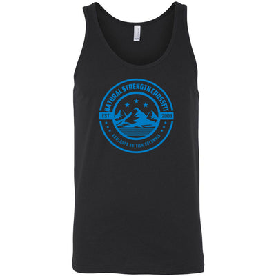 Natural Strength CrossFit - 100 - Mountain - Bella + Canvas - Men's Jersey Tank