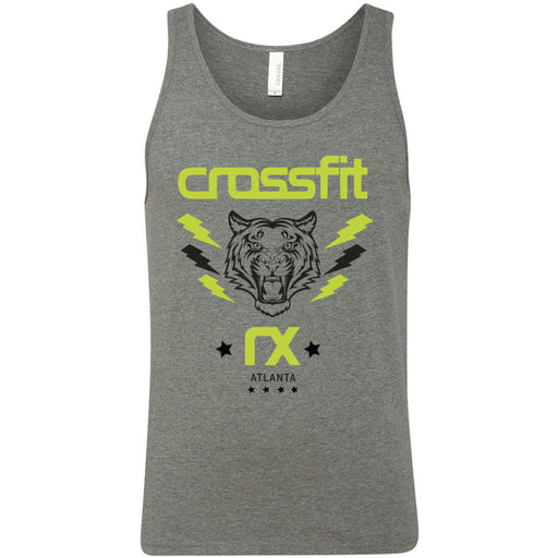 CrossFit Rx - 100 - Tiger - Bella + Canvas - Men's Jersey Tank