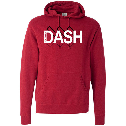 CrossFit Dash - 100 - Right Arrow - Independent - Hooded Pullover Sweatshirt
