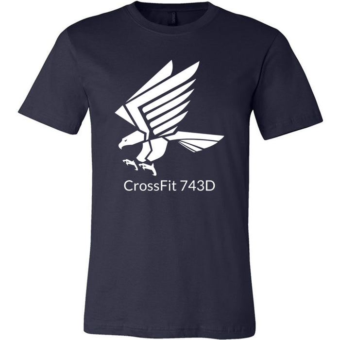 CrossFit 743D - 100 - Standard - Bella + Canvas - Men's Short Sleeve Jersey Tee