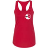 Caged CrossFit - 100 - Plate - Next Level - Women's Ideal Racerback Tank