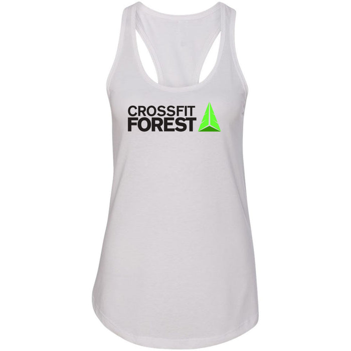 CrossFit Forest - 100 - Standard - Next Level - Women's Ideal Racerback Tank