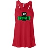 Carriage House CrossFit - Green - Bella + Canvas - Women's Flowy Racerback Tank