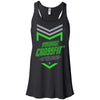 Made2Live CrossFit - 100 - 2020 Open Neon Gray - Bella + Canvas - Women's Flowy Racerback Tank