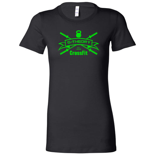 G-Theory CrossFit - 100 - Standard Green - Bella + Canvas - Women's The Favorite Tee