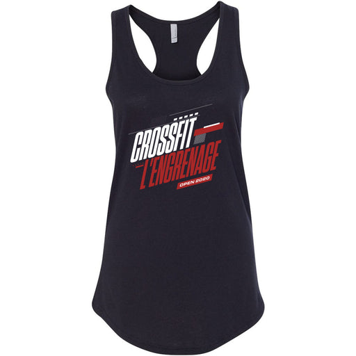 CrossFit L'Engrenage - 100 - 2020 Open - Next Level - Women's Ideal Racerback Tank