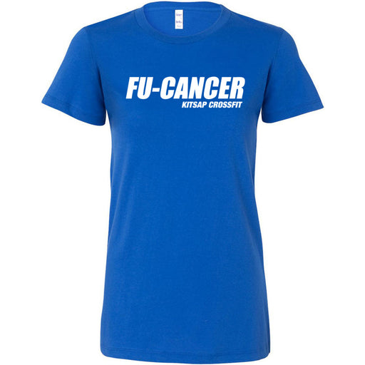 Kitsap CrossFit - 200 - FU Cancer - Bella + Canvas - Women's The Favorite Tee