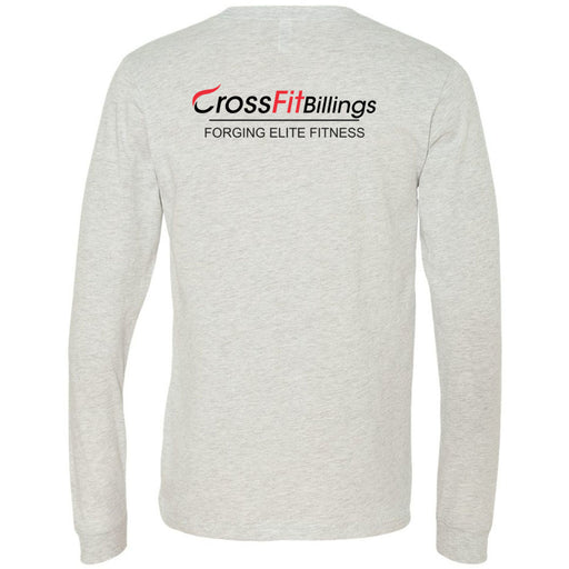 CrossFit Billings - 202 - C - Bella + Canvas 3501 - Men's Long Sleeve Jersey Tee