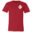 CrossFit Pittsburgh - 200 - RED - Bella + Canvas - Men's Short Sleeve Jersey Tee