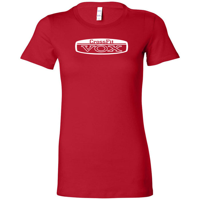 CrossFit Vox - 100 - Standard - Bella + Canvas - Women's The Favorite Tee