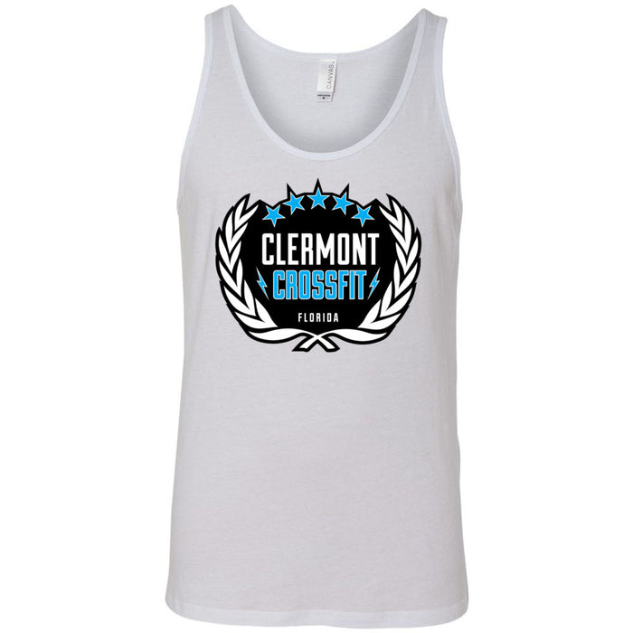 Clermont CrossFit - Standard - Bella + Canvas - Men's Jersey Tank
