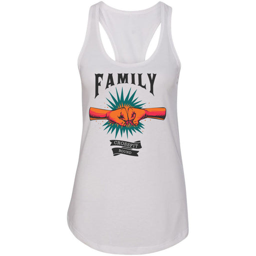 CrossFit Bound - 100 - Family - Next Level - Women's Ideal Racerback Tank