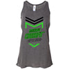 Made2Live CrossFit - 100 - 2020 Open Black Green - Bella + Canvas - Women's Flowy Racerback Tank