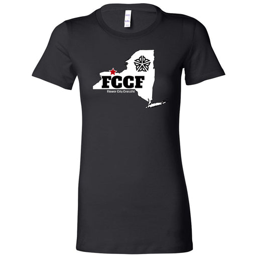 Flower City CrossFit - 100 - NY - Bella + Canvas - Women's The Favorite Tee