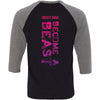 CrossFit Snaga - 202 - Out of the Box - Bella + Canvas - Men's Three-Quarter Sleeve Baseball T-Shirt
