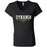 Dynamis CrossFit - 100 - Pistol Grip Pump - Bella + Canvas - Women's Short Sleeve Jersey V-Neck Tee