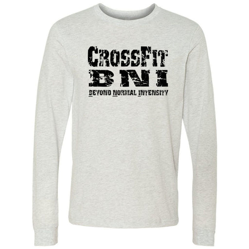 CrossFit BNI - 100 - Standard - Bella + Canvas 3501 - Men's Long Sleeve Jersey Tee